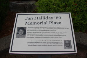 Jan Halliday Memorial