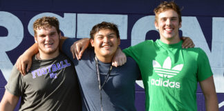 North Thurston Offensive Linemen