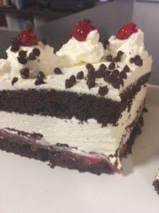 Oktoberfest German Diner Black Forest Cake