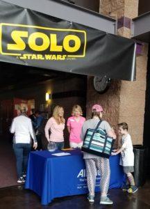 Ronelle Funk Customer Appreciation Star Wars Solo