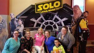 Ronelle Funk Star Wars movie event
