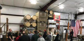 Sandstone Distillery Diesel Tour