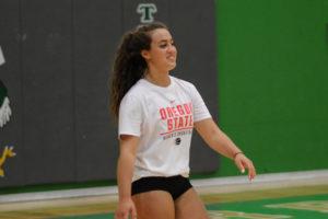 Sophia Koelsch Tumwater Volleyball