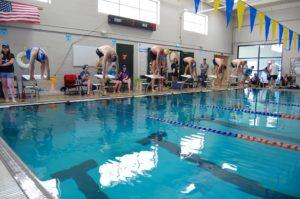 South Sound YMCA Seniors Starting Blocks