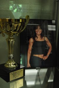 TempleFit Olympia Maxines Trophy Case