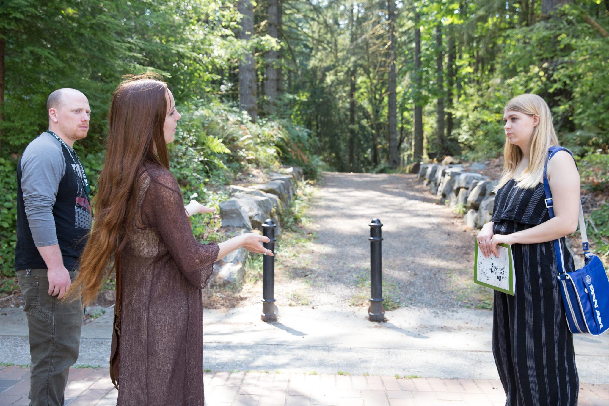The Evergreen State College Thurston Talk student writer tour-17