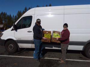 Thurston County Food Bank Donation