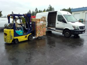 Thurston County Food Bank Vehicles