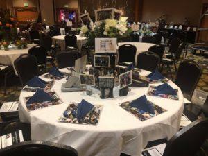 Barene DenAdel Table Decor for the Leaders Banquet