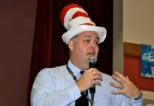 Brock Williams as Dr Seuss