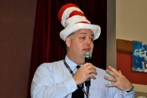 Brock Williams as Dr Seuss