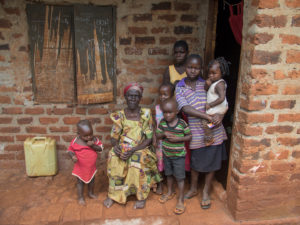 Friendly Water for the World Grandmother and Children in Jinja