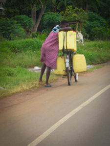 Friendly Water for the World transporting water