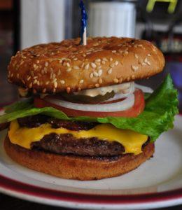 Joe's Deluxe Cheeseburger with Bacon Bucoda, WA