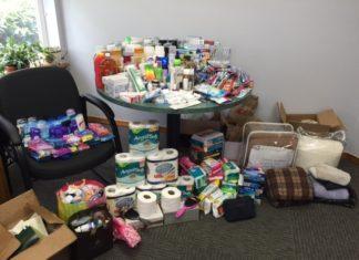 Melanie Bakala donation drive