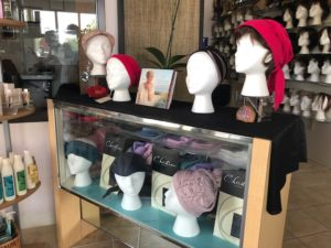 Merle Norman Cosmetics Wigs and Day Spa head wraps