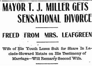 Headline of divorce Seattle Public Library