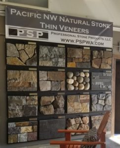 Professional Stone Products Sample Wall