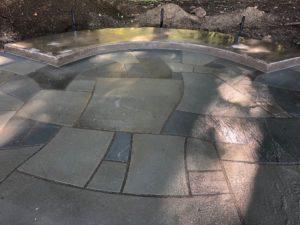 Tenino Memorial Plaza Flagstone