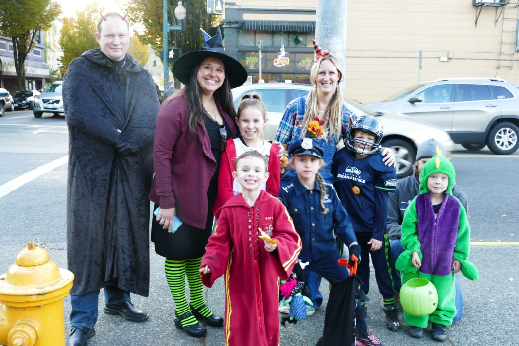 Thurston County Trick or Treat Downtown Olympia Family fun
