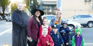 Thurston County Trick or Treat Downtown Olympia Family fun