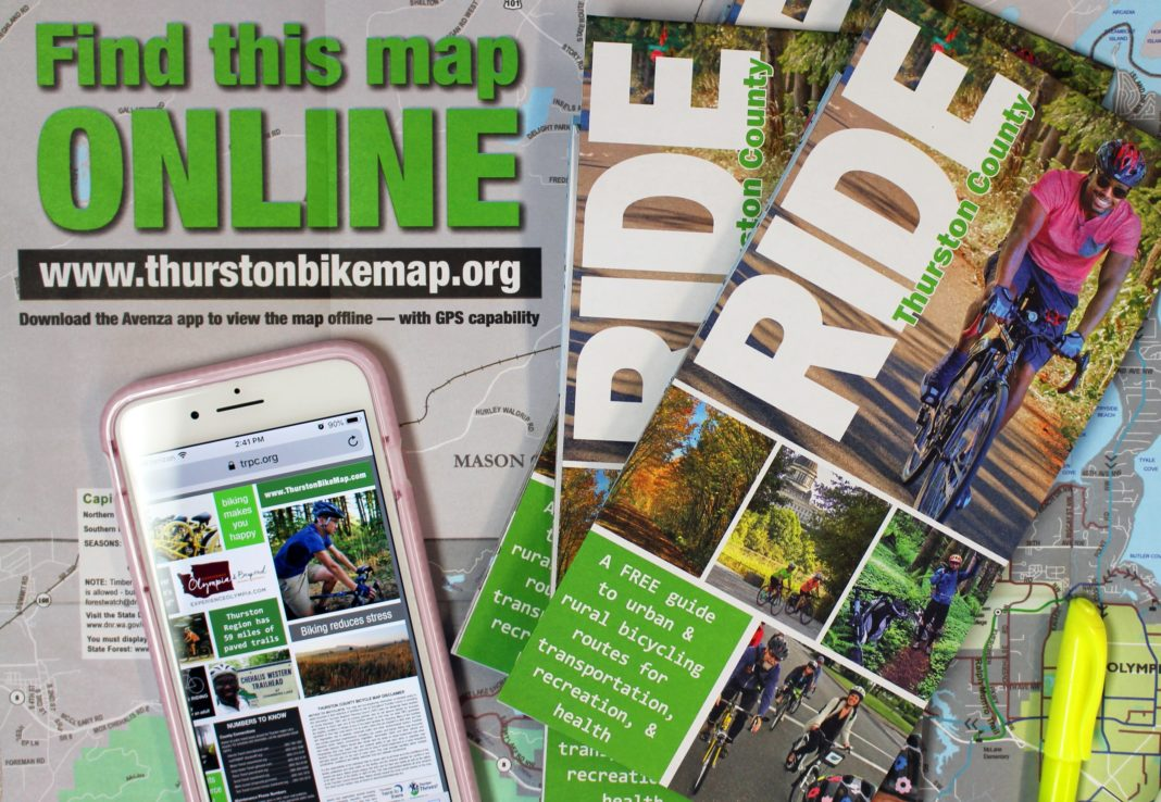 New Bike Map Improves Navigation For Bicyclists In Thurston County