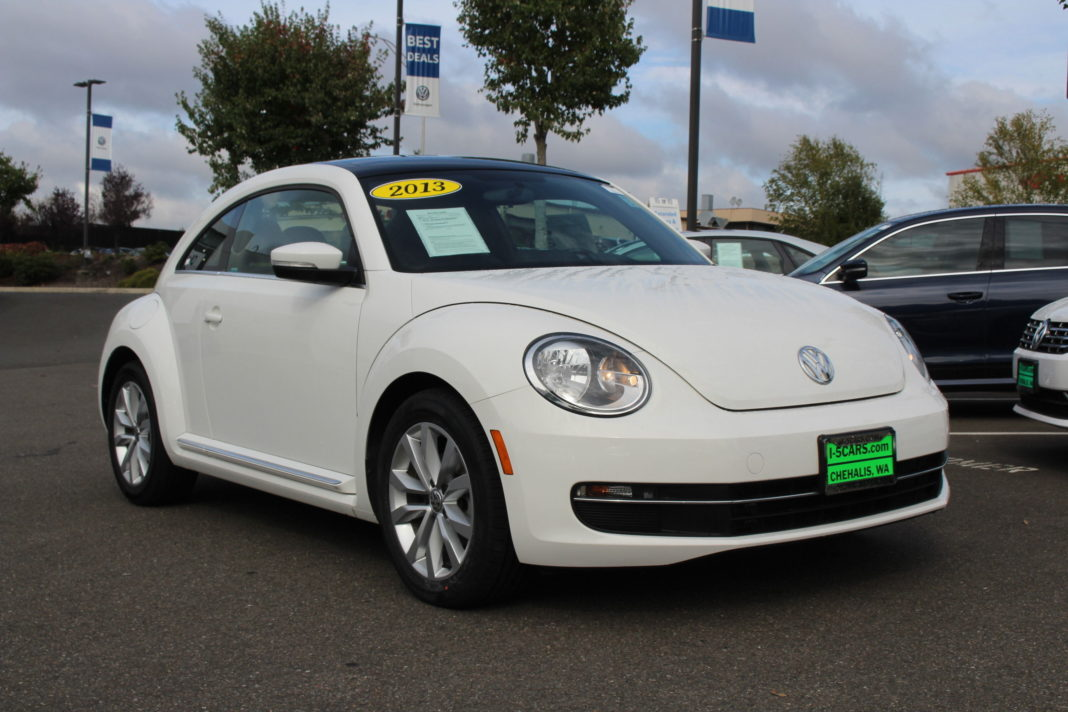 VW of Olympia white TDI