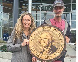 Washington Business Bank Jeff Eastman and Anne Larsen