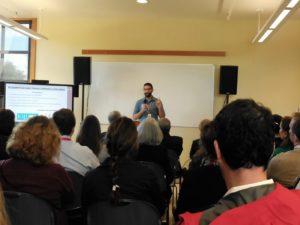 Washington State Science Standards Event Tacoma teacher Josh Simondet