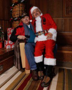 Salish Santa at the Evergreen Longhouse Olympia, WA