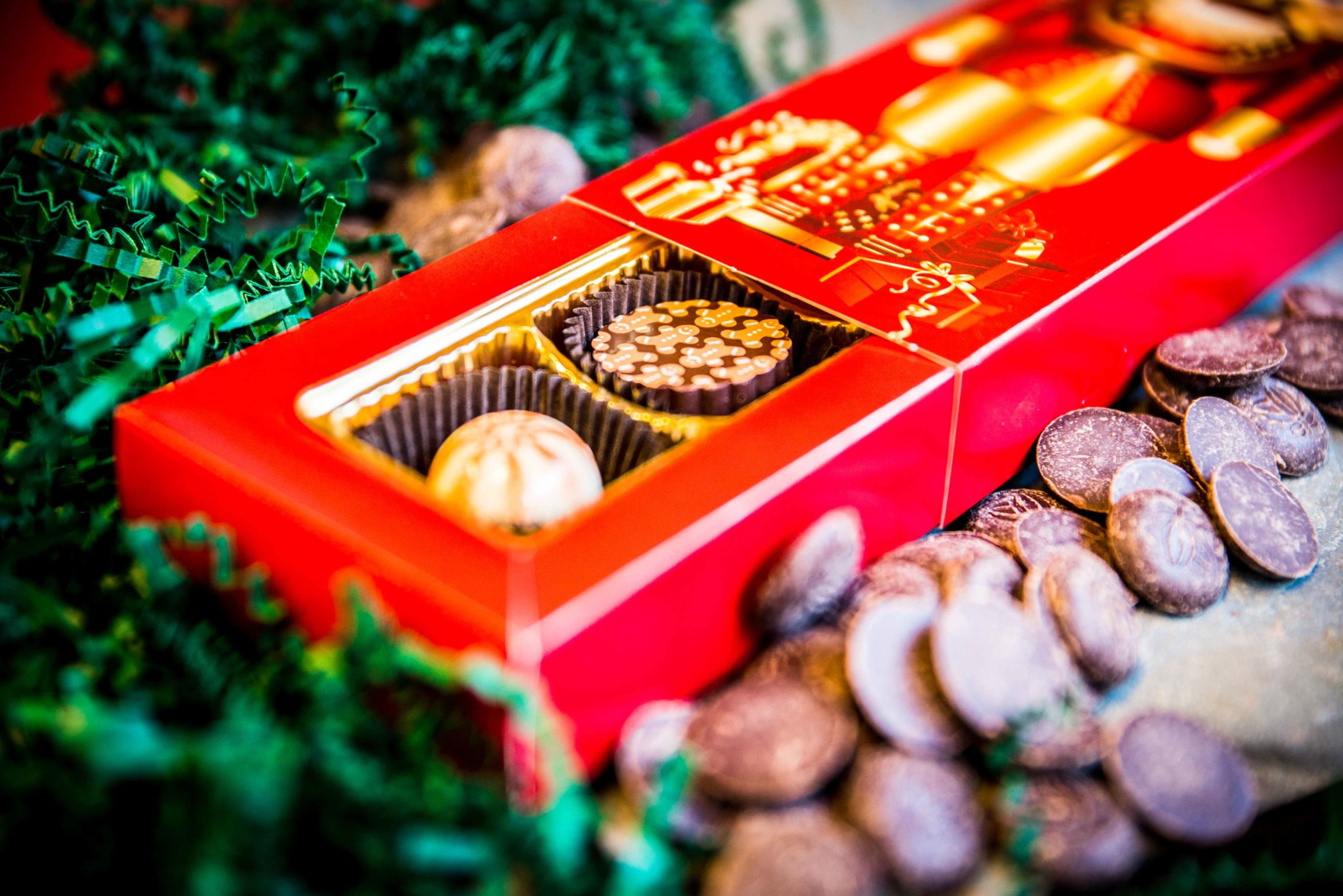 Bittersweet Chocolates Holiday Selections Nutcracker Box