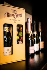 Bittersweet Chocolates Holiday Selections Wine and Chocolate Box