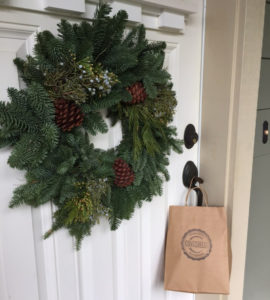 Covabrelli Cofee wreath delivery coffee