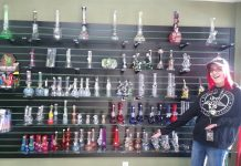 Gypsy Glass Chehalis Display
