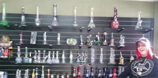 Gypsy Glass Chehalis Display