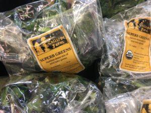 Calliope Farms greens