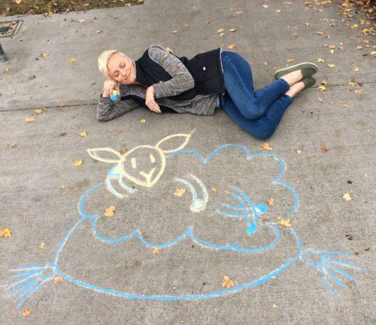 Holy Lamb Organics-mural-Sheep Sleep