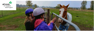 Horsin' Around with Girl Scouts @ Girl Scouts of Western Washington at Blue Mountain Boarding | Olympia | Washington | United States