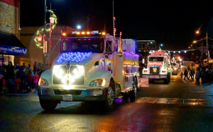 Montesano Festival of Lights parade downtown