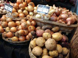 Olympia Farmers Market Potatoes