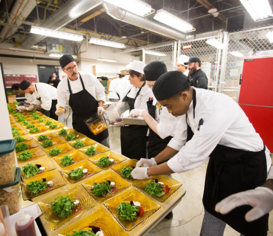SPSCC Foundation The Experience Student Food Preparation
