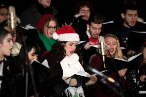 Saint Martins University holiday concert-outdoor carols