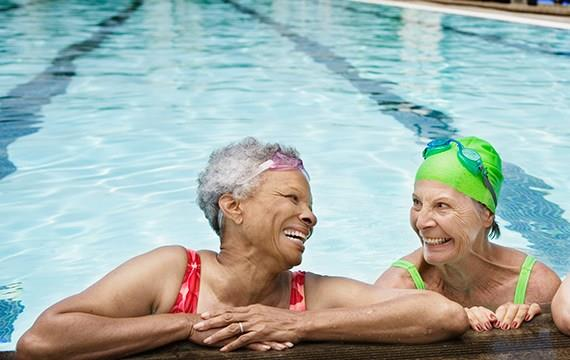 South Sound YMCA Adult Swim Class