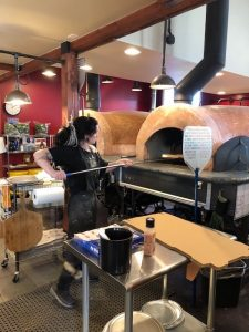 Stone Creek Wood Fired Pizza Olympia employee ovens