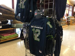 Thurston County Pet Lovers Fluffy and Floyds Seahawk gear