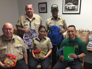 Thurston County Sheriffs CSU Backpacks