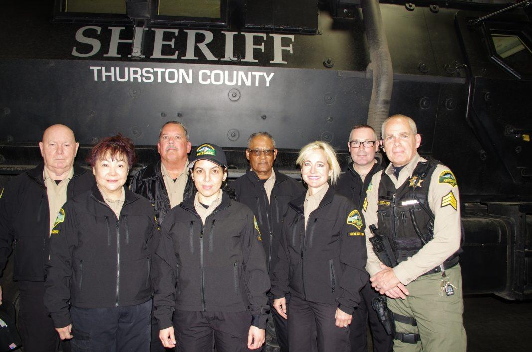 Thurston Sheriff CSU Volunteers and Armored Vehicle
