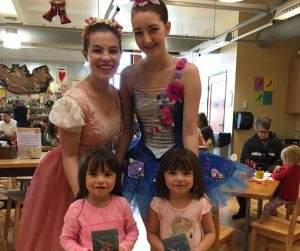 Ballerinas at Hands on Children's Museum