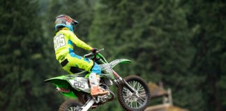 ghorv kid on dirt bike