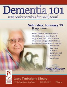 Dementia 101 @ Lacey Timberland Library